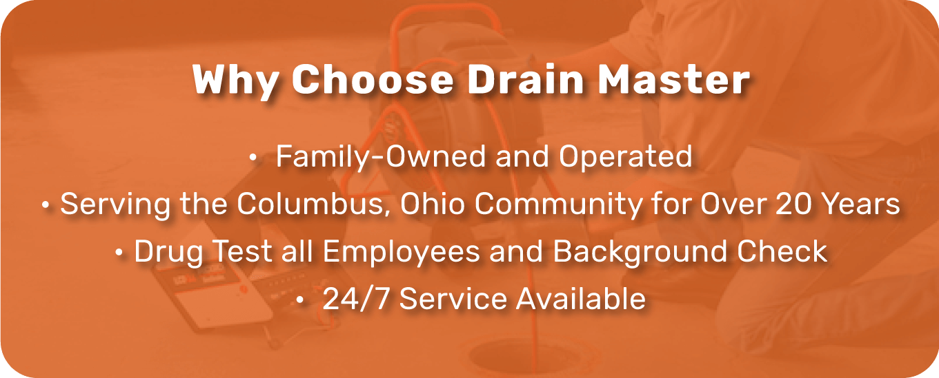 Drain Inspection Plumbing Services in Ohio
